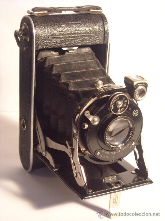 NAGEL DR. AUGUST, VOLLENDA NO.70/0 (6X9) ANSTIGMAT 105MM F4,5 AÑO 1930 EXCEPCIONAL (Cámaras Fotográficas - Antiguas (hasta 1950))