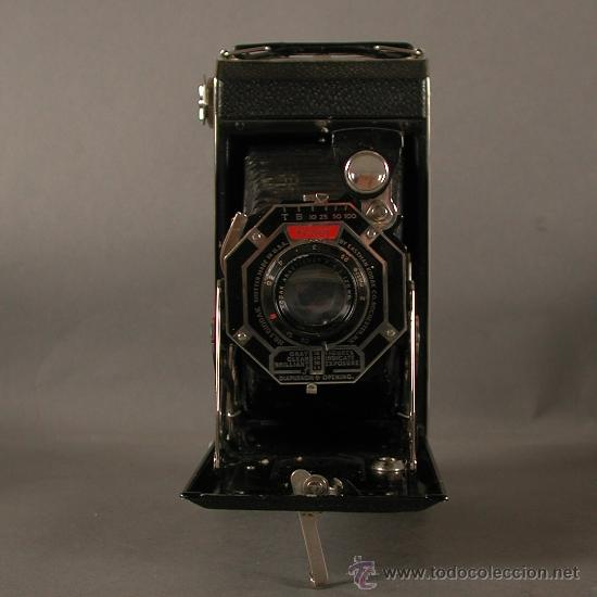 Cámara de fotos: Cámara Fotográfica Antigua. Kodak USA / EE.UU. 1920 - 1930. - Foto 2 - 89867930