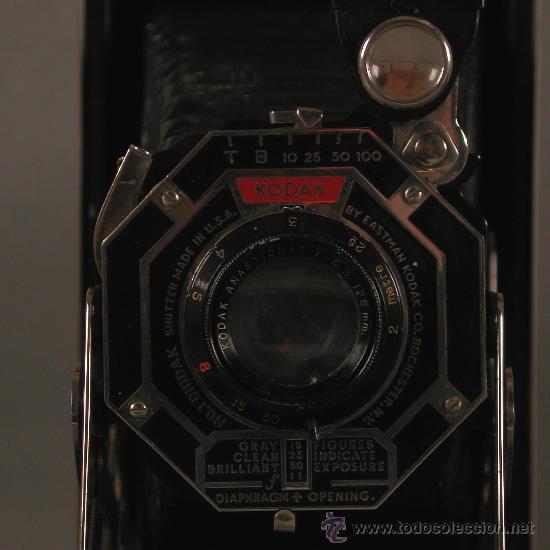 Cámara de fotos: Cámara Fotográfica Antigua. Kodak USA / EE.UU. 1920 - 1930. - Foto 3 - 89867930