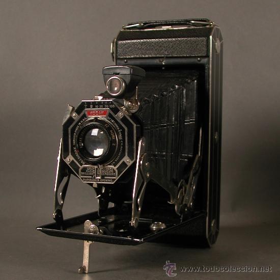 Cámara de fotos: Cámara Fotográfica Antigua. Kodak USA / EE.UU. 1920 - 1930. - Foto 7 - 89867930