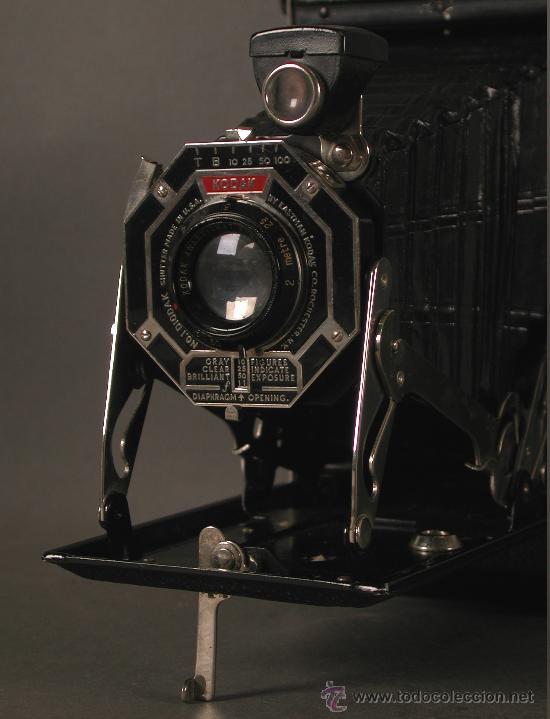Cámara de fotos: Cámara Fotográfica Antigua. Kodak USA / EE.UU. 1920 - 1930. - Foto 9 - 89867930