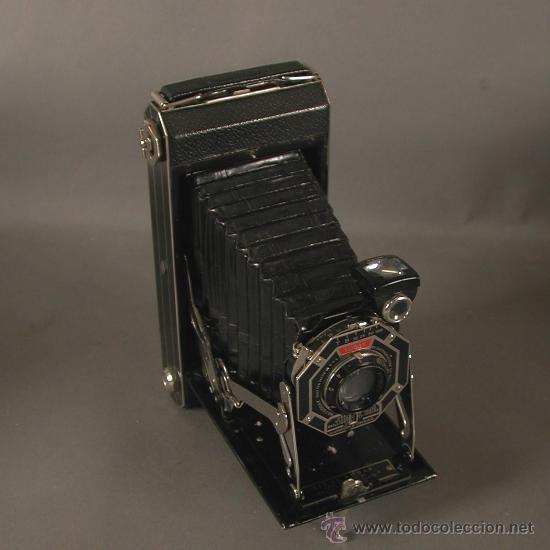 Cámara de fotos: Cámara Fotográfica Antigua. Kodak USA / EE.UU. 1920 - 1930. - Foto 14 - 89867930