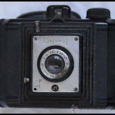 Cámara de fotos: FIGURA 013 CÁMARA ANTIGUA CAPTA II SUPER CAPTA OBJETIVO PATENTADO FOTOGRAFÍA CLÁSICA. Lote 29499335