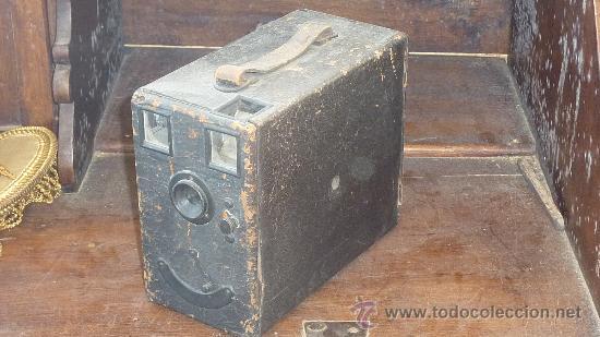 ANTIGUA CAMARA FOTOGRAFICA ? DESCONOZCO DEL TEMA. VER FOTOS. (Cámaras Fotográficas - Antiguas (hasta 1950))