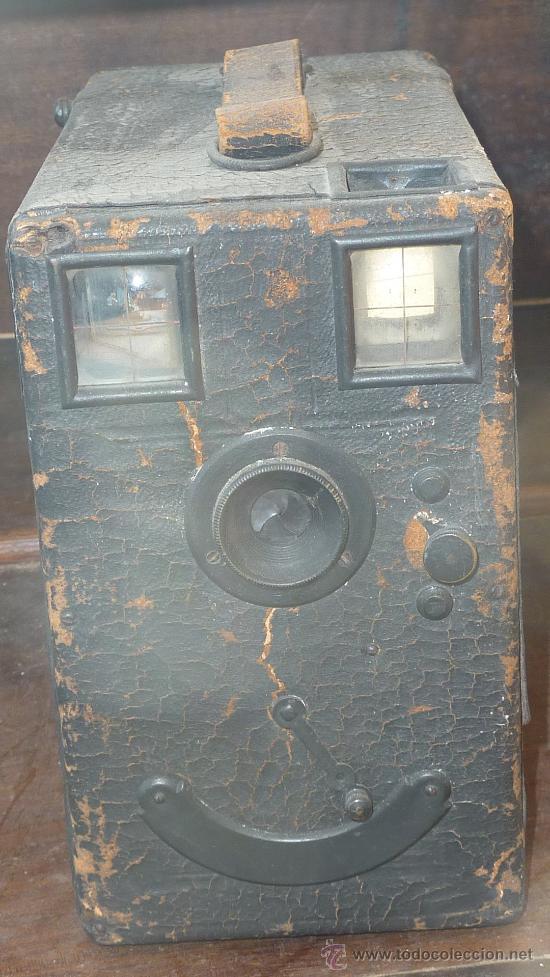 Cámara de fotos: antigua camara fotografica ? desconozco del tema. ver fotos. - Foto 2 - 29585844