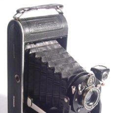 Cámara de fotos: NAGEL DR. AUGUST, VOLLENDA NO.68 SCHNEIDER KREUZNACH RADIONAR 105MM F6,3 AÑO 1931 MUY RARA. Lote 29735061