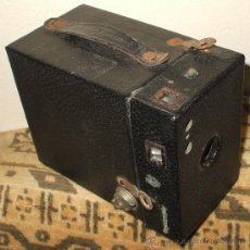 Cámara de fotos: CAMARA DE CAJON KODAK EASTMAN , CARTRIDGE HAWK-EYE NO.2 MODEL B DE 1926 A 1930. Lote 29984329