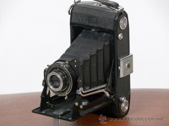 CAMARA FOTOGRAFICA ZEISS IKON FORMATO 6X9 (Cámaras Fotográficas - Antiguas (hasta 1950))