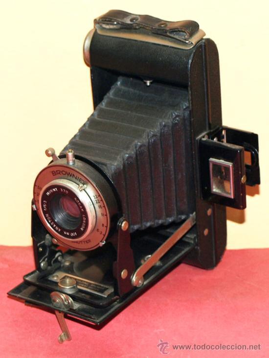 KODAK SIX 20 FOLDING BROWNIE (Cámaras Fotográficas - Antiguas (hasta 1950))