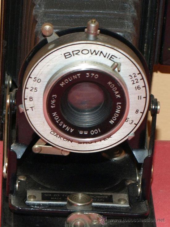 Cámara de fotos: KODAK SIX 20 FOLDING BROWNIE - Foto 4 - 30923722