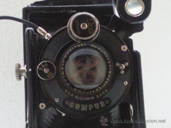 Cámara de fotos: CAMARA FUELLE ,- ICA - COMPUR ,- MOD VOLTA 146/1 ,- CON FUNDA - Foto 2 - 30724563