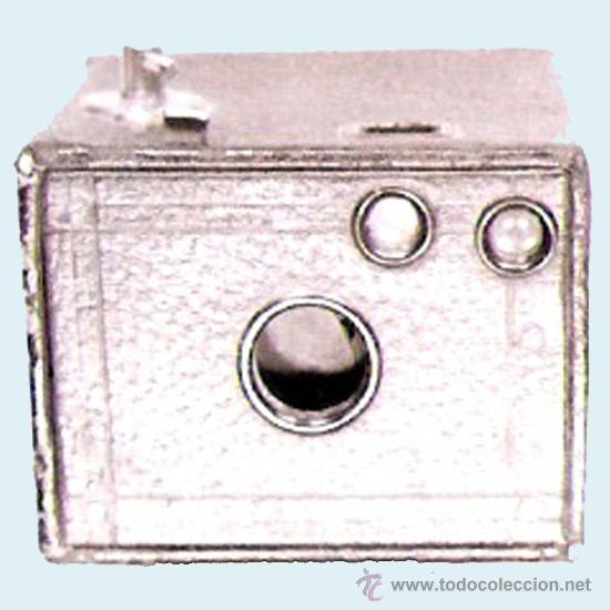 CAMARA DE FOTOS USE FILM Nº 127 Y Nº 0 BROWNIE, CAMERA MODELO C.O. ROCHESTER U.S.A. (Cámaras Fotográficas - Antiguas (hasta 1950))