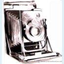 Cámara de fotos: CAMARA DE FOTOS EXTRAPLANA WERKSTATTEN ALEMANA, CON CORTINILLA, MEDIDOR DE LUZ LENTE VARUO:1:100. Lote 31232568