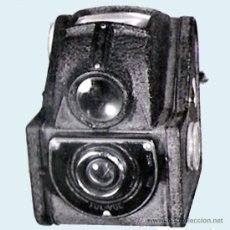 Cámara de fotos: CAMARA DE FOTOS ENSIGN, INGLESA. LENTE FUL-VUE VISOR SUPERIOR, CON FUNDA. 7,5 X 10 X 9 CM.. Lote 71899207