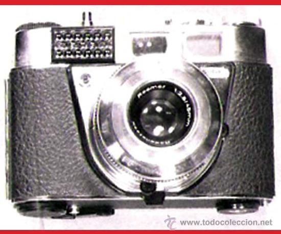 CAMARA DE FOTOS -RETINETTE 1B KODAK- ALEMANA,LENTE PRONTOR 500 LK-RODENSTOCK 1:2,8/45 MM. Y P/ FLASH (Cámaras Fotográficas - Antiguas (hasta 1950))