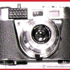 Cámara de fotos: CAMARA DE FOTOS -RETINETTE 1B KODAK- ALEMANA,LENTE PRONTOR 500 LK-RODENSTOCK 1:2,8/45 MM. Y P/ FLASH. Lote 31249691