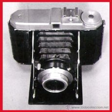 Cámara de fotos: CAMARA DE FOTOS -SUBITA- AÑOS 50, DE FUELLE AUTOMATICO Y LENTE ANASTIGMAC 1:63/75 MM. ALEMANA . Lote 57849170