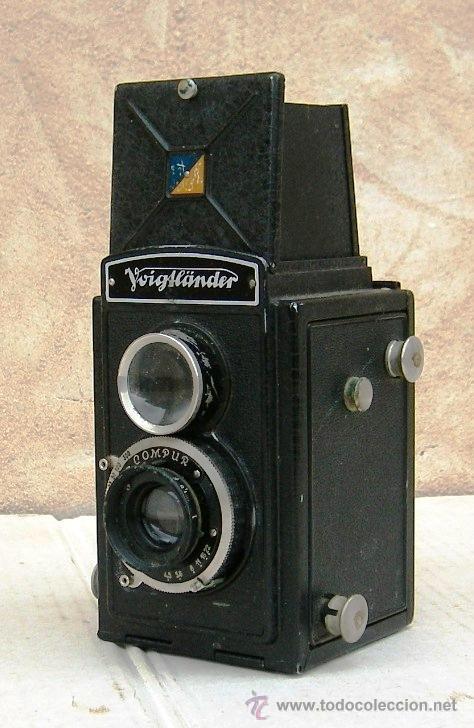 Cámara de fotos: camara voigtlander brillant antigua, con carrete original, objetivo compur, data de 1923, cam365 - Foto 2 - 31539435