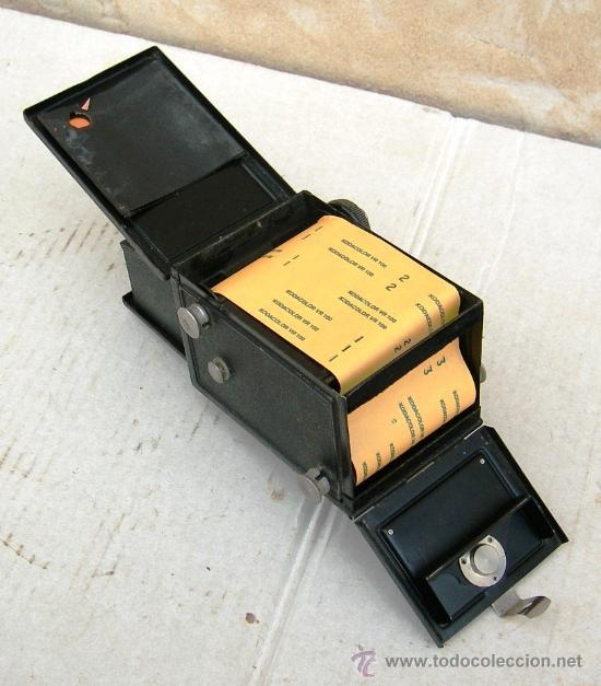 Cámara de fotos: camara voigtlander brillant antigua, con carrete original, objetivo compur, data de 1923, cam365 - Foto 4 - 31539435