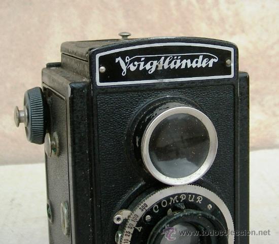 Cámara de fotos: camara voigtlander brillant antigua, con carrete original, objetivo compur, data de 1923, cam365 - Foto 5 - 31539435