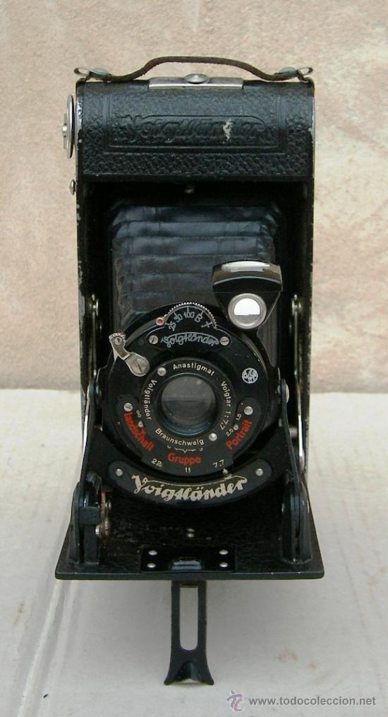 Cámara de fotos: camara fuelle voigtlander bessa antigua, data de 1918,, cam365 - Foto 3 - 55998615