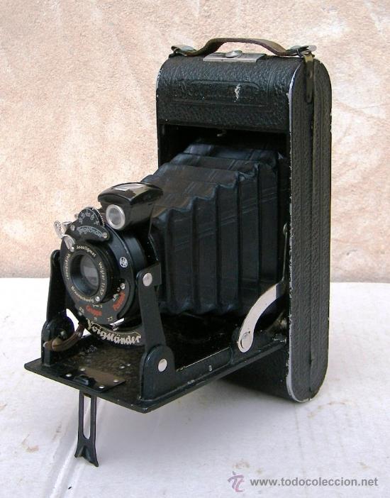 Cámara de fotos: camara fuelle voigtlander bessa antigua, data de 1918,, cam365 - Foto 2 - 55998615