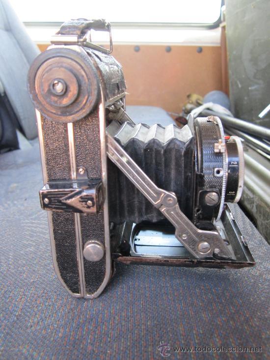 Cámara de fotos: Camara fotografica de fuelle - Compur. Objetivo Schneider - creo que funciona el disparador. - Foto 3 - 31774024