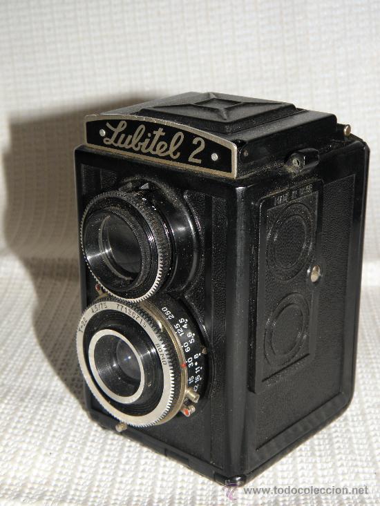 ANTIGUA CAMARA FOTOGRAFICA LUBITEL-2 (Cámaras Fotográficas - Antiguas (hasta 1950))