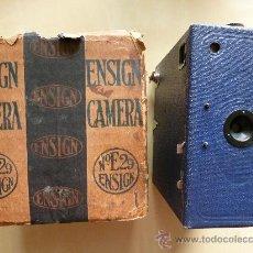 Cámara de fotos: CAMARA DE FOTOS ENSIGN E 29, CON CAJA DE CARTON. Lote 32405157