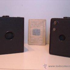 Cámara de fotos: CONJUNTO KODAK BROWNIE Nº3, Nº2 Y SU MANUAL ORIGINAL DE 1912. Lote 32664808