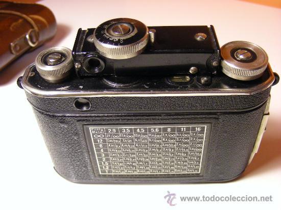 Cámara de fotos: Certo Dollina II telemétrica de 1934 - Foto 3 - 34698165