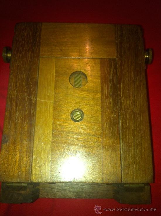 Cámara de fotos: camara de fotos de fuelle de madera - Foto 5 - 34723143