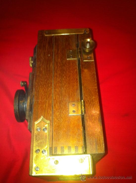 Cámara de fotos: camara de fotos de fuelle de madera - Foto 6 - 34723143