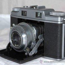 Cámara de fotos: GRAN TELEMETRICA, 35 MM..AGFA SUPER SOLINETTE..ALEMANIA 1953.....FUNCIONA. Lote 146766981