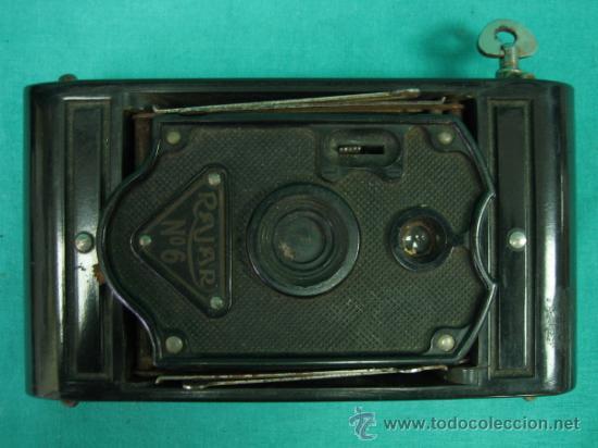 Cámara de fotos: Camara antigua REJOR Nº6 - Foto 2 - 35302214