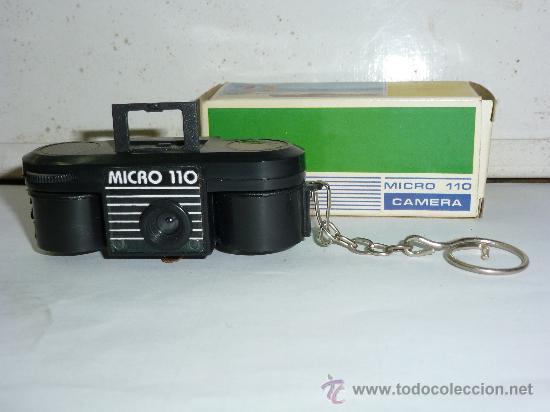 CAMARA DE FOTOS MICRO 110, CON SU CAJA E INSTRUCCIONES (Cámaras Fotográficas - Antiguas (hasta 1950))