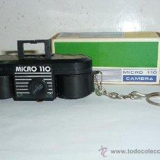 Cámara de fotos: CAMARA DE FOTOS MICRO 110, CON SU CAJA E INSTRUCCIONES. Lote 36272217
