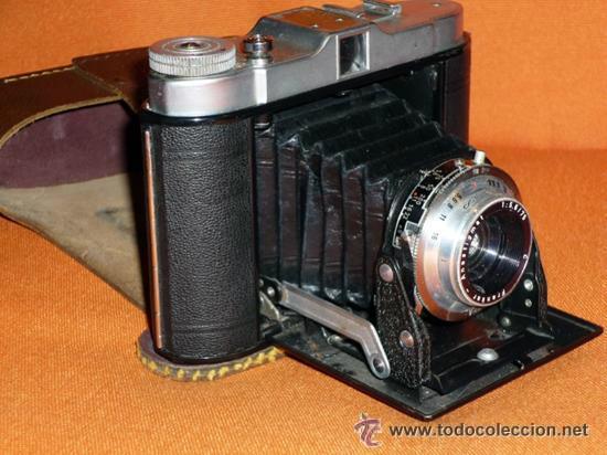 Cámara de fotos: CAMARA DE FUELLE FRANKA VARIO MADE IN GERMANY AÑOS 50 VER FOTOS - Foto 4 - 36664764