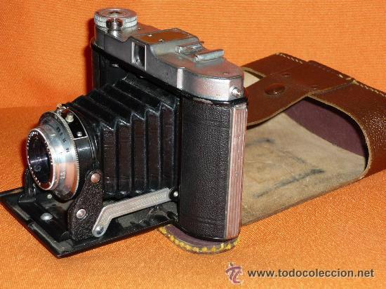 Cámara de fotos: CAMARA DE FUELLE FRANKA VARIO MADE IN GERMANY AÑOS 50 VER FOTOS - Foto 8 - 36664764