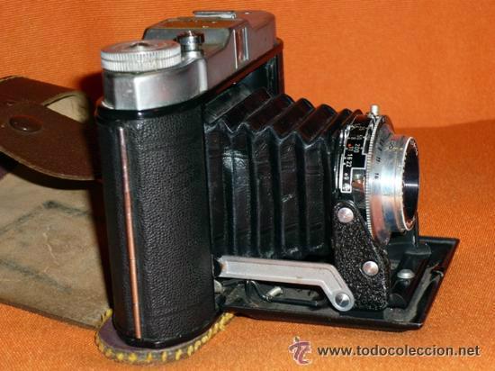 Cámara de fotos: CAMARA DE FUELLE FRANKA VARIO MADE IN GERMANY AÑOS 50 VER FOTOS - Foto 2 - 36664764