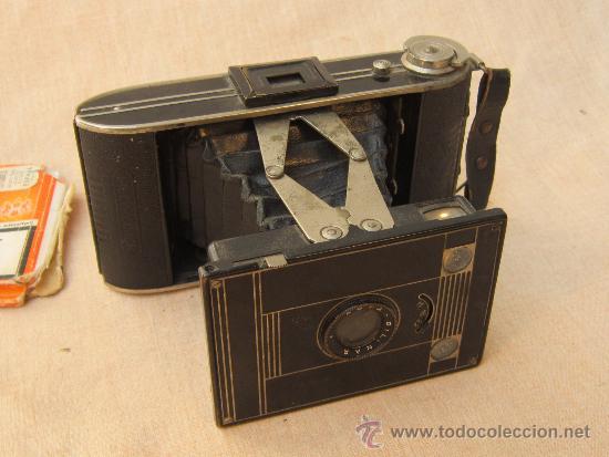 CAMARA AGFA BILINAR (Cámaras Fotográficas - Antiguas (hasta 1950))