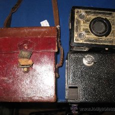 Cámara de fotos - Cámara fotográfica Caja Negra Six20 Brownie Junior. con funda original - 37252841