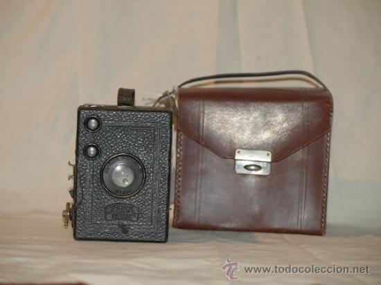 CÁMARA FOTOGRÁFICA ZEISS IKON. GOERZ-FRONTAR. BOX-TENGOR. ALEMANIA. 1920 (Cámaras Fotográficas - Antiguas (hasta 1950))
