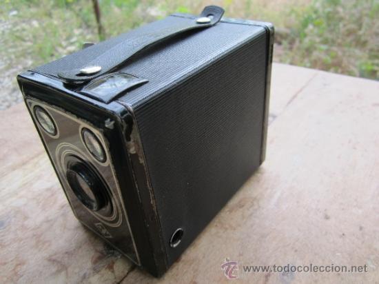 ANTIGUA CAMARA DE CAJON AGFA - PASO 120- VER FOTOS (Cámaras Fotográficas - Antiguas (hasta 1950))