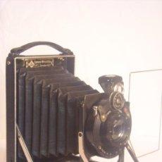 Cámara de fotos: KW (KAMERAWERKSTATTEN) CAMARA DE PLACAS PATENT ETUI 6,5X9CM SCHNEIDER KREUZNACH AÑO 1921. Lote 37619108