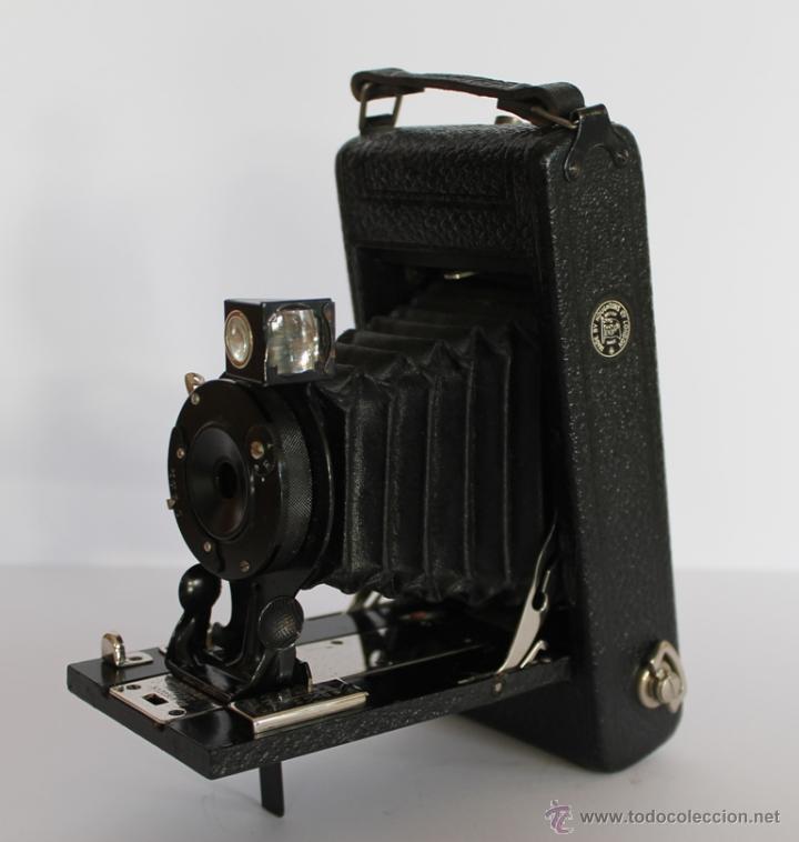CAMARA FOTOS FOTOGRAFICA ENSING MADE HOUHTONS LTD LONDON DE FUELLE VER DETALLES EN FOTOGRAFIAS (Cámaras Fotográficas - Antiguas (hasta 1950))