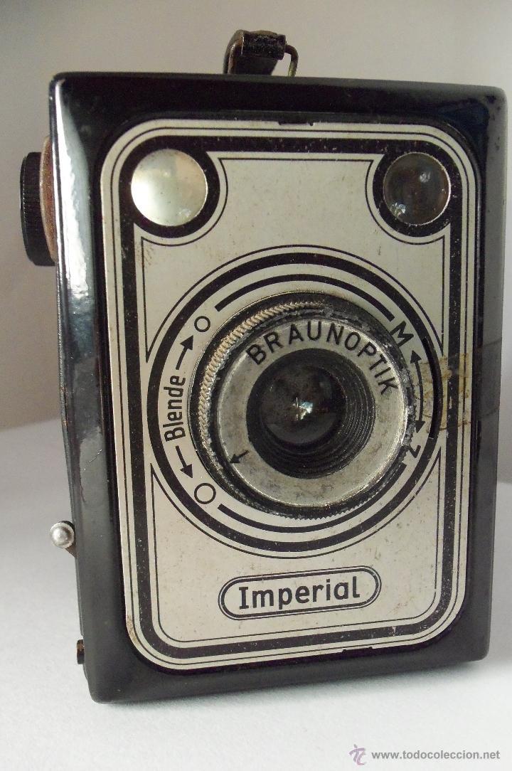 CÁMARA DE CAJÓN BRAUN IMPERIAL - COMPLETA Y ENTERA (Cámaras Fotográficas - Antiguas (hasta 1950))