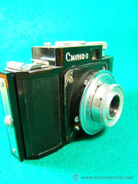 Cámara de fotos: CMEHA 2-POR CASA LOMO-MADE BY GOMZ URSS-BAQUELITA-OBJETIVO INTERCAMBIABLE-1:4,5-CAMARA FOTOGRAFICA.. - Foto 4 - 40836020