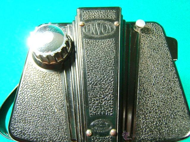 Cámara de fotos: ILFORD ENVOY DE BAQUELITA-OBJETIVO EXTENSIBLE OPTIMAX-MADE IN ENGLAND-ESTILO ART DECO-CAMARA FOTOS.. - Foto 4 - 40850709