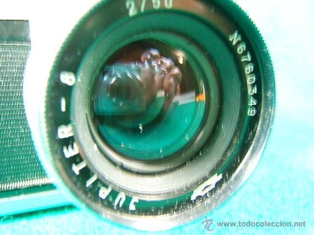 Cámara de fotos: ZORKI 4-Nº 67826126-OBJETIVO JUPITER 8-Nº 6760349-MADE USSR-URSS-PERFECTA COPIA LEICA-CAMARA FOTOS.. - Foto 2 - 40851029